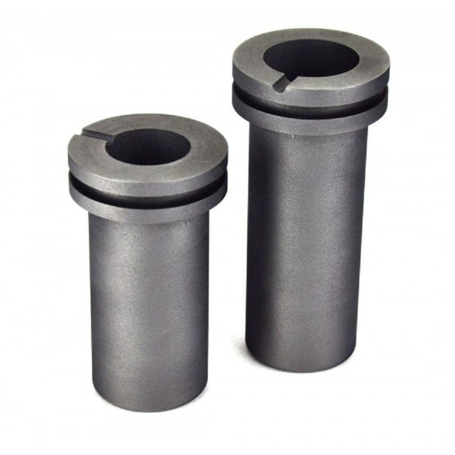 4kg graphite gold melting crucible/high quality graphite ingot mould /Graphite Crucible With Groove