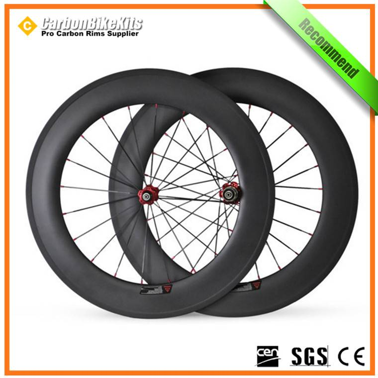CW88C 88mm Road Bicycle Carbon Clincher wheelset
