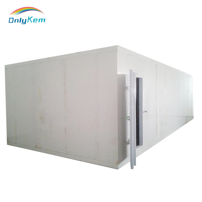 Cold room for fruit and vegetables