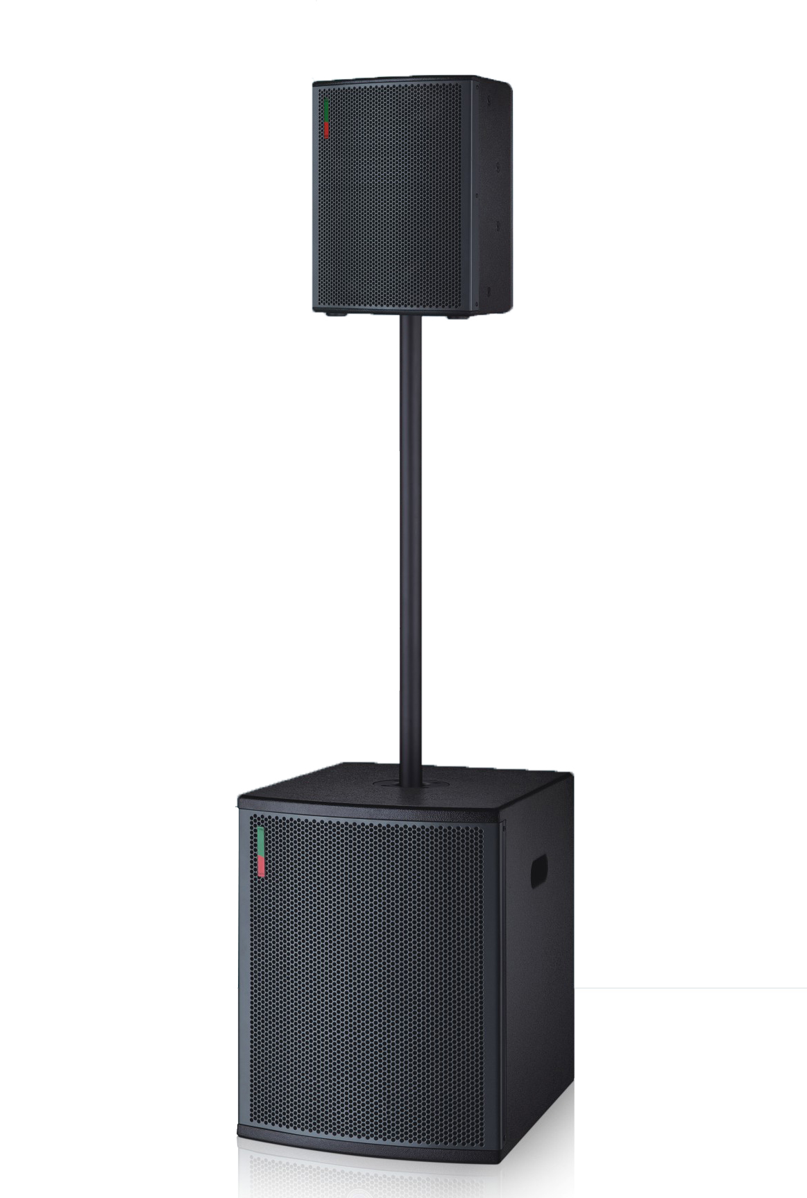 Professional Coaxial active dsp 3 channel subwoofer speaker