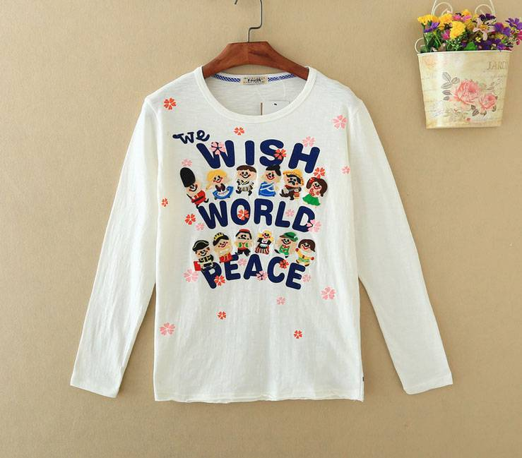 lady long sleeve t-shirt
