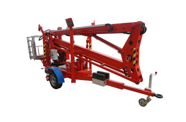 Terrainlift Industries trailer mounted boom lifts PTS series