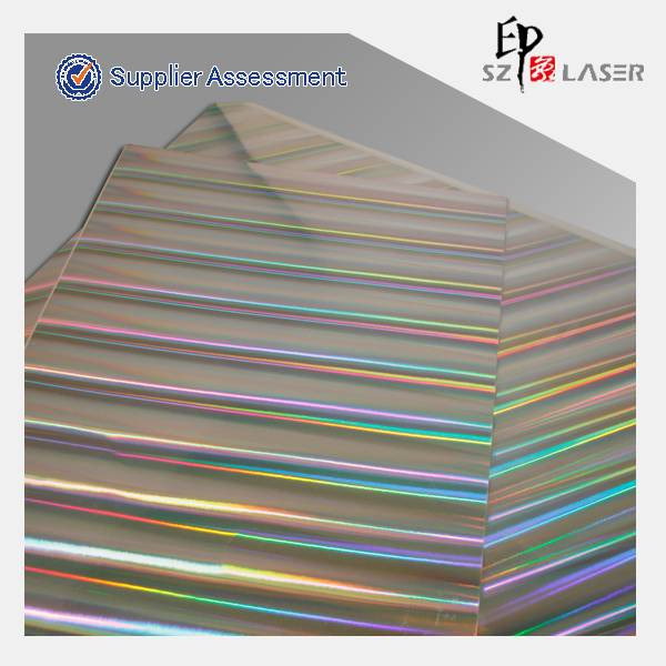 holographic laser laminated paper roll for printing