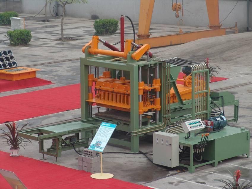 Building machine for brick making/machine of brick making