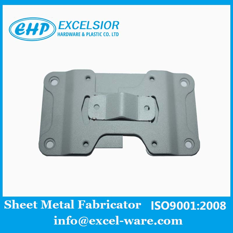 Grey Power Coated Sheet Metal Parts