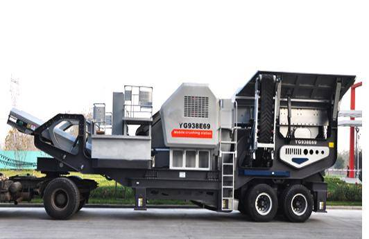 2012 New mobile primary jaw crusher