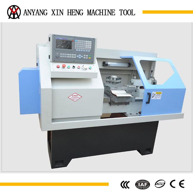 horizontal cnc mini lathe for metal processing