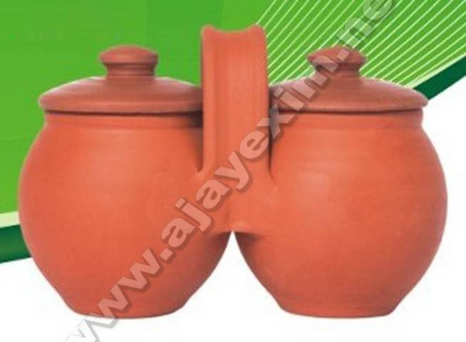 Clay Condiment Set