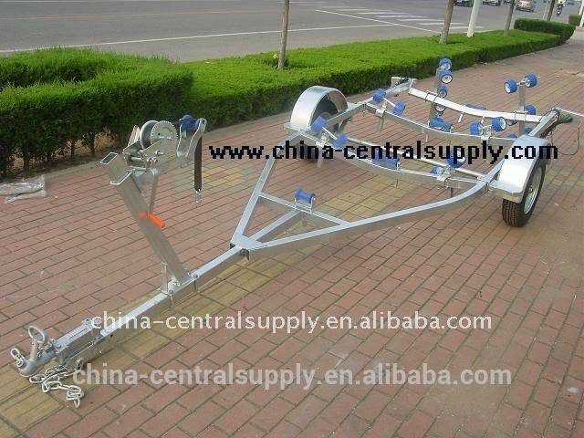 5.0m boat trailer with roller system