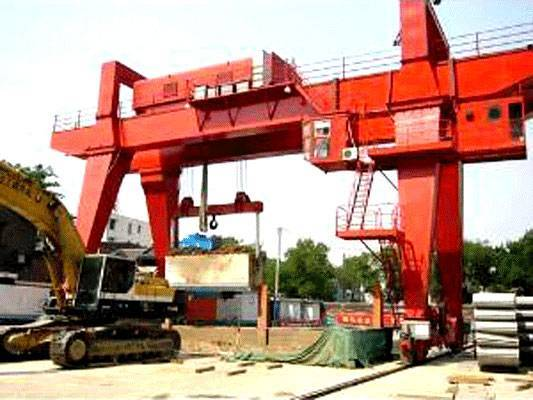 Double Girder Gantry Crane with Hook for Project
