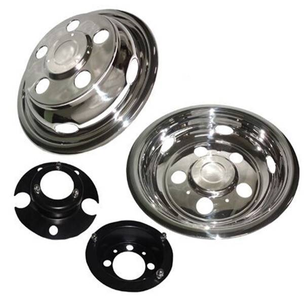 16''stainless steel truck chrome wheel cover/wheel trims