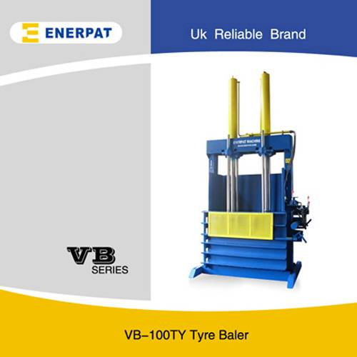 Automatic Waste Truck Tyre Baling Machine
