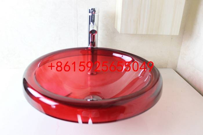 bathroom basin,glass sink,wash basin vessel sink wash sink bathroom cabinet sink n-740