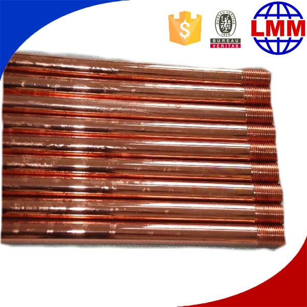 hot sale galvanized earthing rod copper bonded steel rod factory