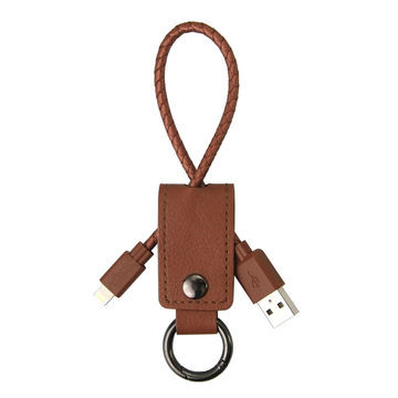 MFI Keychain 8 pin Lightning USB Charging Data Cable for Apple iPhone