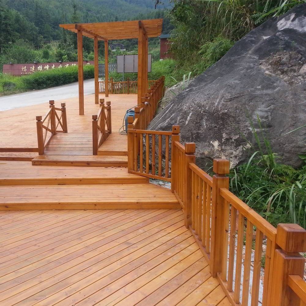 Anticorrosive Outdoor Wood Decking