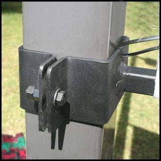 Iron Straight Arm Banner Brackets