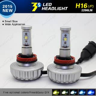 3S 40w H11 2200lumen All in One LED Headlight Bulb Fanless System with CE Rosh 24V