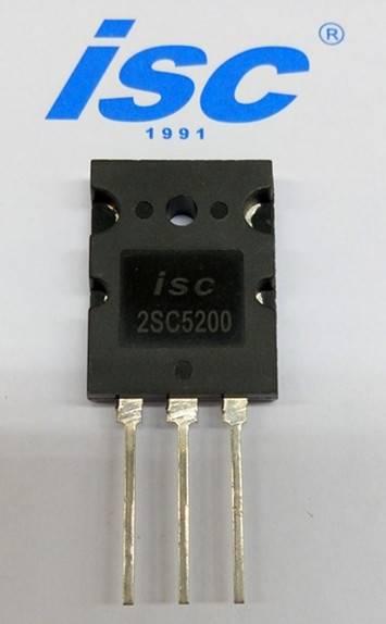 ISC sillicon NPN power transistor 2SC5200