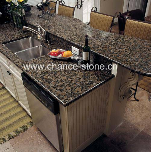 Baltic Brown Kitchen  top