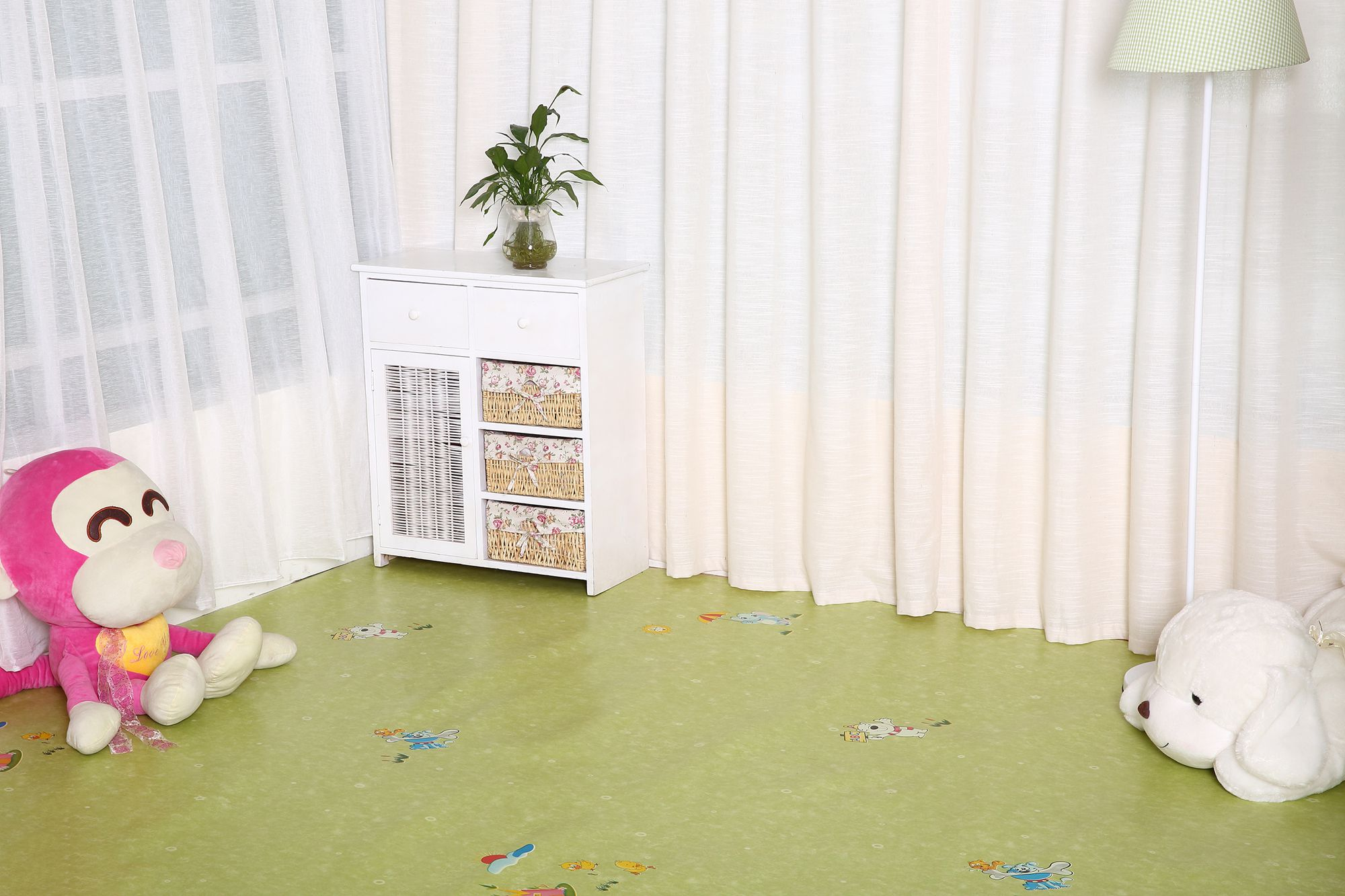 High quality home use plastic pvc vinyl flooring for promotion