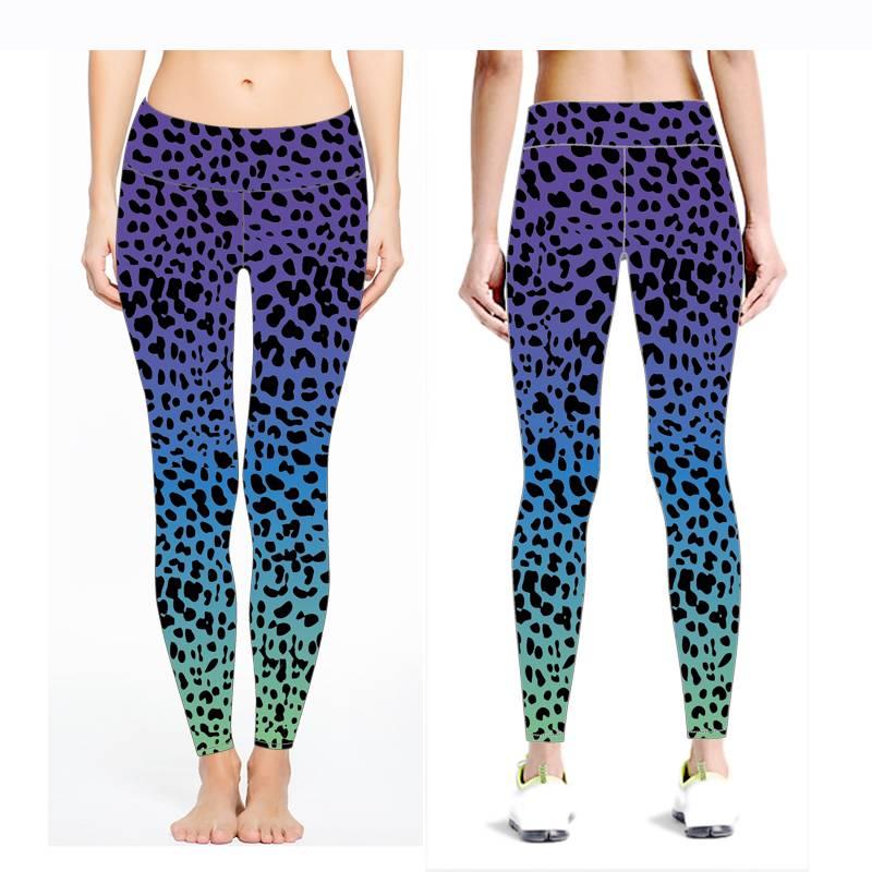 New OEM Women Leggings Colorful Compression Women Wholesale Yoga Pants