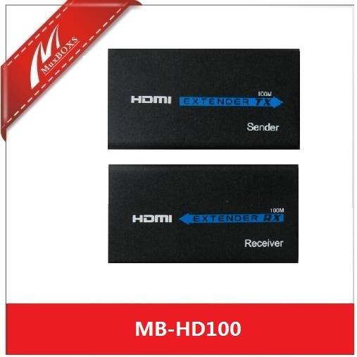 HDMI Over IP Extender with IR
