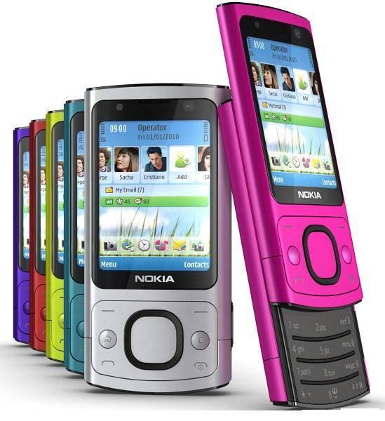 Original unlocked GSM mobile phones Nokia 6700 slide
