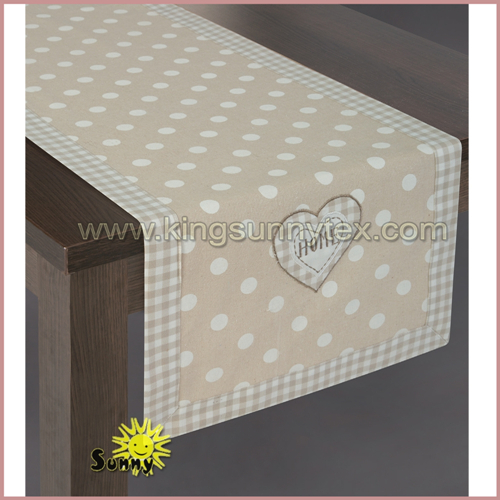 New Printing Fabric of Spring Table Cover in 2018