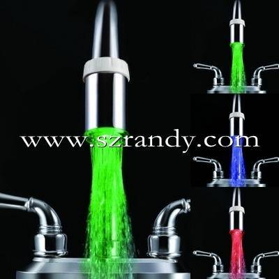 temperature sensor led kitchen faucet