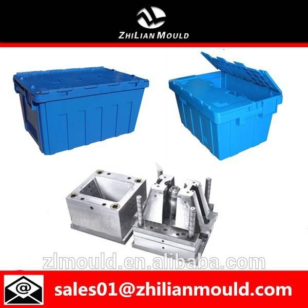 taizhou high quality stackable injection plastic crate mould maker