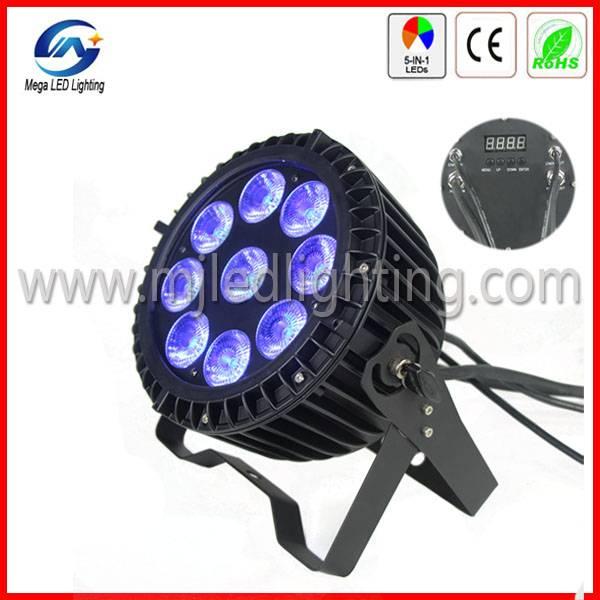 IP65 LED PAR Can RGBWA+UV 6in1 LED