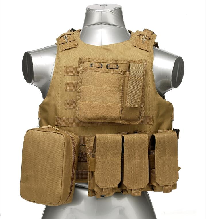 Mil-Falcon military vest OEM duffle adjustable size molle multifunction combat tactical vest