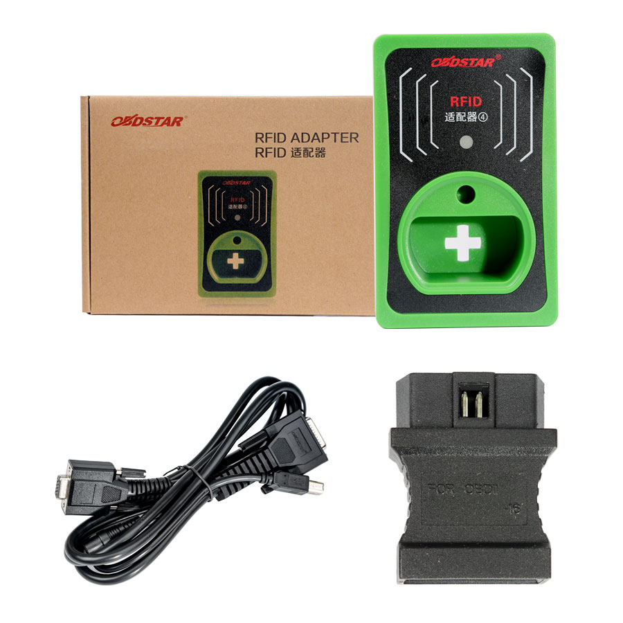 New OBDSTAR RFID Adapter Chip Reader Immo for VW/Audi/Skoda/Seat 4th 5th key X300 DP/X300 Pro3/X100
