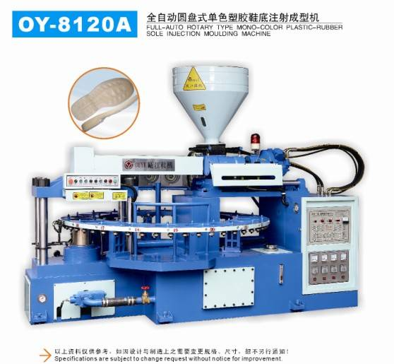 PVC Injection Moulding Machine