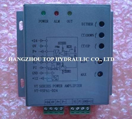 proportional valve amplifier hydraulic valve solenoid valve