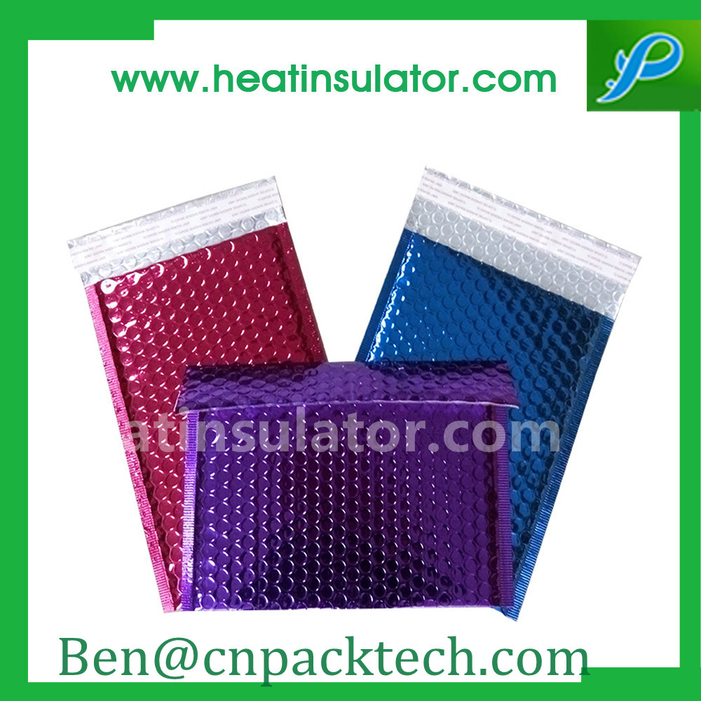 Temperature Sensitive Insulated customized bubble wrap bag packaging supplier