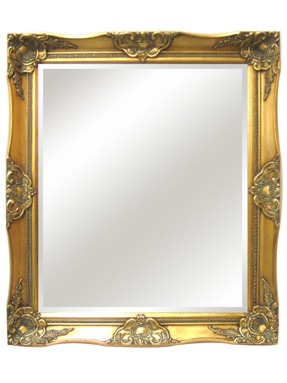 European style hand-carved mirror wooden frame fxsx01