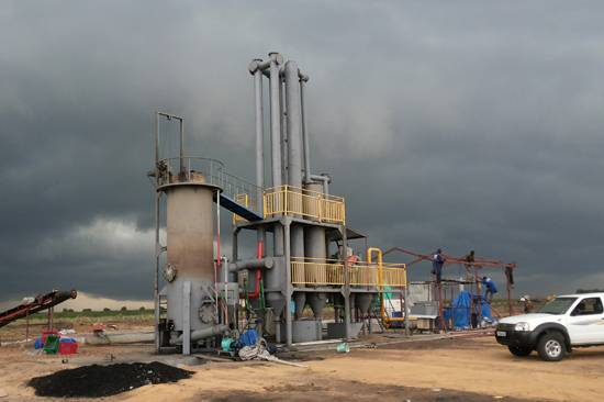 Paddy husk gasification power plant