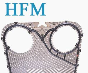 titanium plate heat exchanger with EPDM gasket