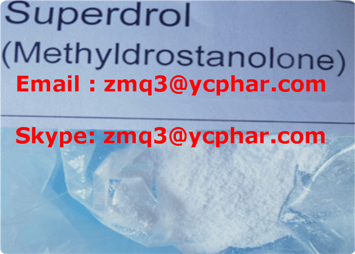 Muscle Building Anabolic Hormone Methyldrostanolon Powder Superdrol