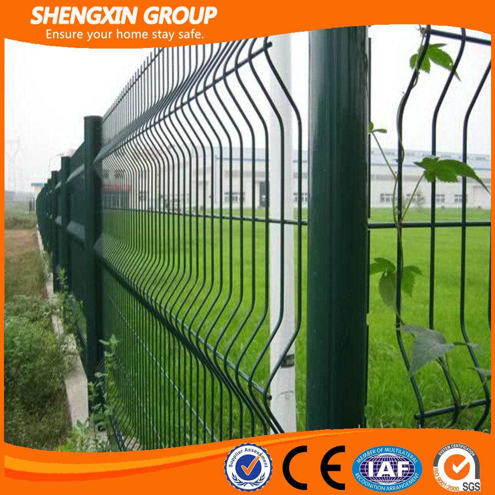 PVC Coated/Sprayed Mesh Panel Fence