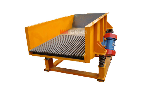 Best efficiency grizzly feeder for hydro power industry