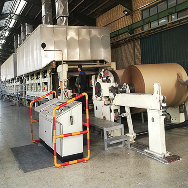 Turnkey project corrugated paper making machine production line
