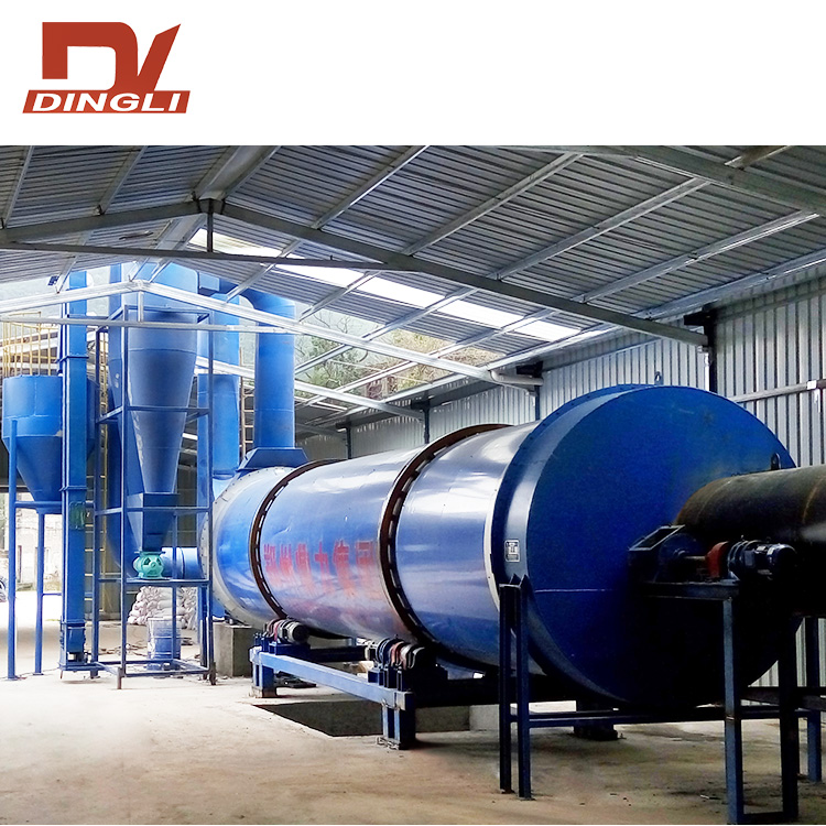 Paddle Stirring Drum Rotary Dryer for Starch Dregs