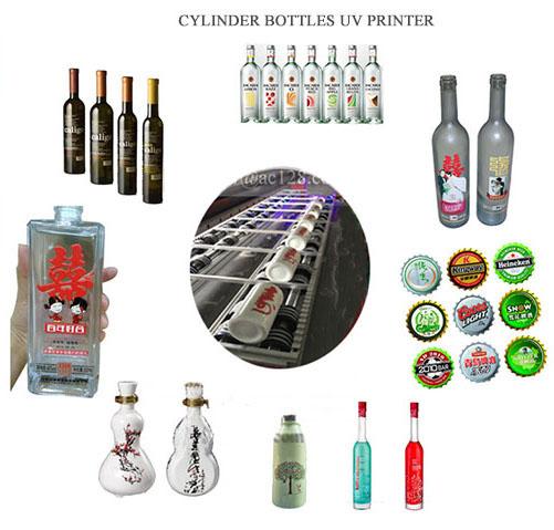 3d glass uv printer wine bottle UV priniter factory