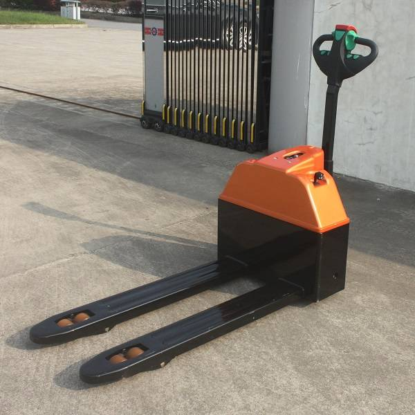 1.3t semi-electric pallet jack for warehouse use
