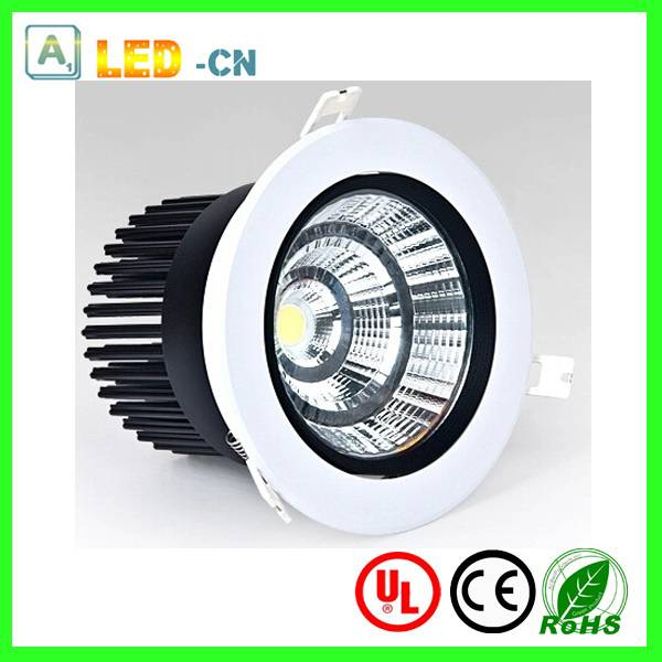 COB 30W dimmable led downlights