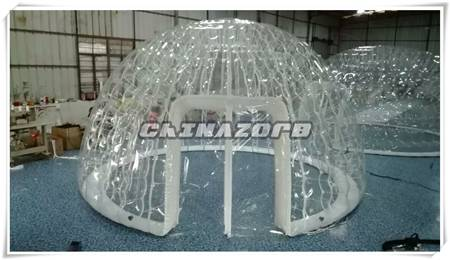 New design bubble tent clear bubble tent for sale