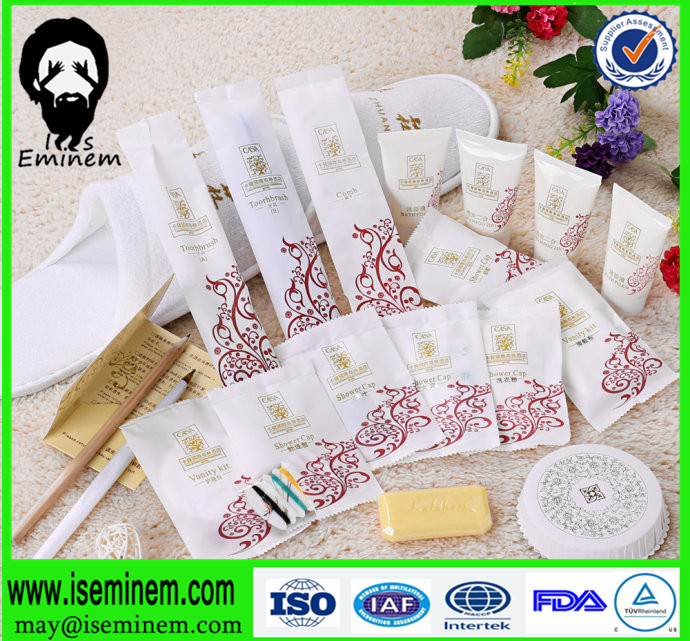 Hot sale luxury disposable 3-5 stars hotel amenities
